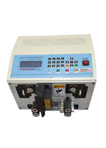 2 Core Cable Cutting Striping Machine
