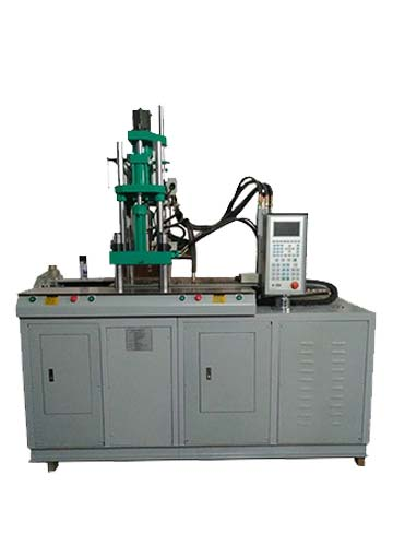 Double Sliding Vertical Injection Machine