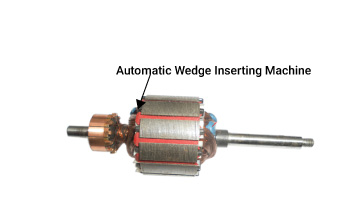 Wedge Inserting Machine